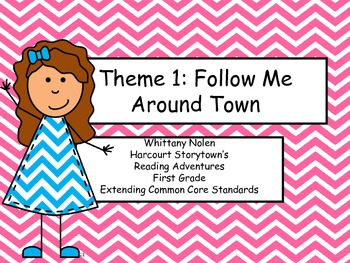 Around Town:Reading Adventures: Extending CCRS Theme 1