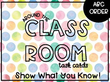 Around the Class {ABC Order}