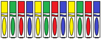 Around the Classroom Scavenger Hunt Clipart Bundle