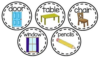 Around the Classroom Labels