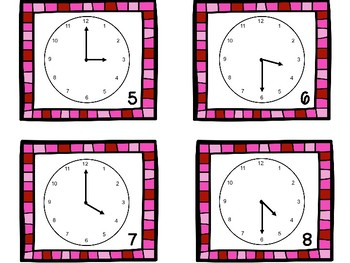 Around the Classroom {TIME TO THE HOUR & HALF HOUR}