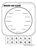 Around the Clock! { A Telling Time Activity}