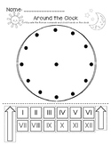 Around the Clock - Roman Numerals