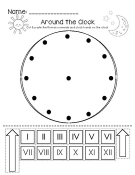 Around the Clock - Roman Numerals