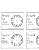 Around the Clock- telling time practice booklet