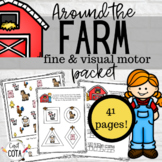 Around the Farm Fine & Visual Motor Packet