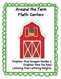 Around the Farm Math Centers