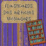 Flashcards des articles ménagers