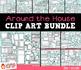 Around the House Furniture Clip Art Bundle