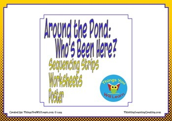 Around the Pond: Who's Been Here? Sequence and Summarize