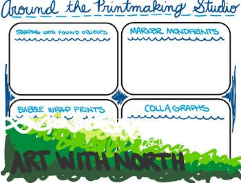 Around the Printmaking Studio Worksheet
