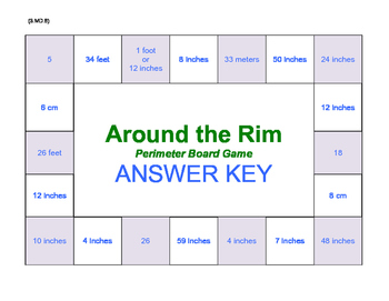 Around the Rim Perimeter Board Game