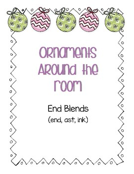 Around the Room - Ending Blends (Ornaments)
