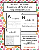 Around the Room: Equations of Parallel and Perpendicular Lines