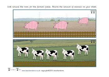 Around the Room Farm Count