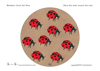 Around the Room Minibeast Count