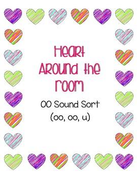 Around the Room - OO Sort with U (Valentines)