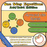 Around the Room - One Step Equations Add/Subt Edition (Tas