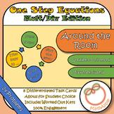 Around the Room - One Step Equations Mult/Div Edition (Tas