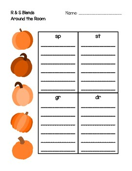 Around the Room - R & S Blends (Pumpkins)