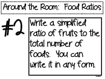 Around the Room Ratios