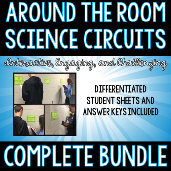 Around the Room-Science Circuit Bundle (25 Complete Sets)