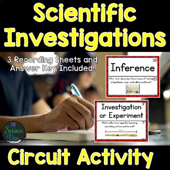 Scientific Process Skills - Around the Room Circuit