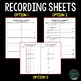 Scientific Process Skills - Around the Room Circuit