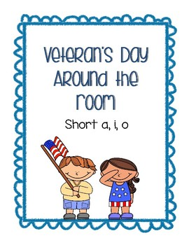 Around the Room - Short a, i, o (Veteran's Day)