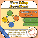 Around the Room - Solving TwoStep Equations (Task Cards)