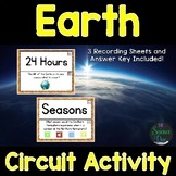 Sun, Earth, and Moon - Around the Room Circuit - Distance Learning Compatible
