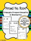 Around the Room! Triangle Proportionality