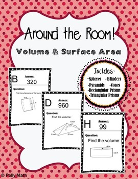Around the Room! Volume and Surface Area