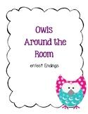 Around the Room - -er/-est Endings (Owls)