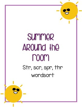 Around the Room - str, scr, spr (Summer Sun)