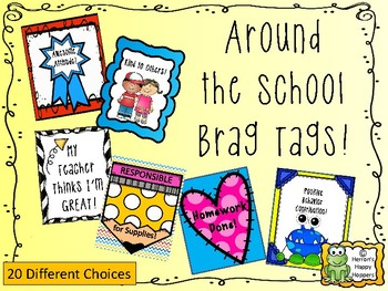 Around the School Brag Tags