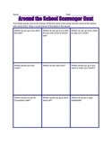 Around the School Scavenger Hunt - Inferencing