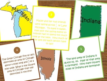 Around the States Math: Midwest Region- All About Fractions