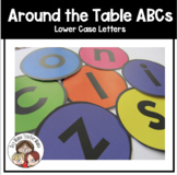 Around the Table ABCs: Lower Case Letters