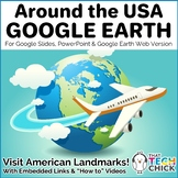 Around the USA with Google Earth | Distance Learning