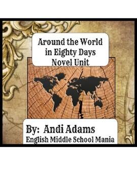 Around the World in Eighty Days Full Digital Classroom Unit