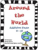 Around the World Addition Facts