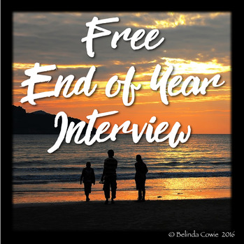 FREE End of the Year Interview