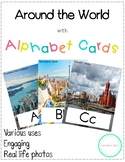 Around the World Alphabet Cards