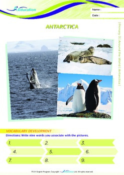 Around the World - Antarctica - Grade 3