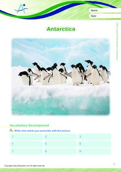 Around the World - Antarctica - Grade 5