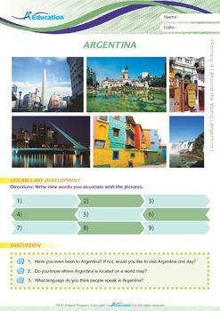 Around the World - Argentina - Grade 4