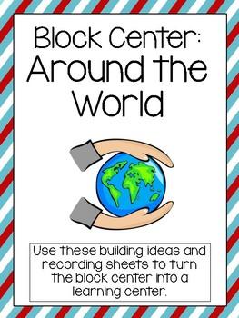 Around the World Block Center- Preschool Learning Centers