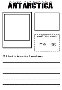Geography - Around the World Booklet