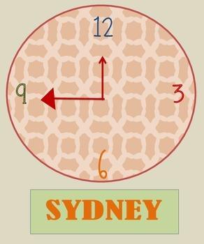Around the World Clocks